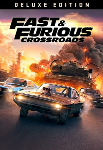 Fast & Furious Crossroads - Deluxe Edition Steam Key GLOBAL