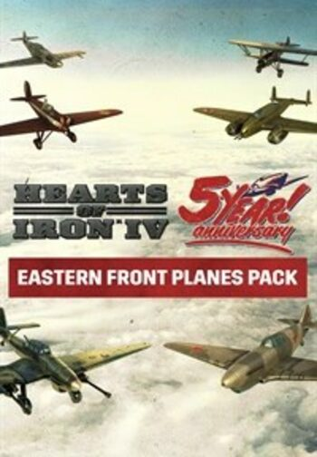 Hearts of Iron IV Eastern Front Planes Pack (DLC) Steam Key GLOBAL