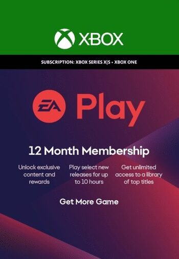 EA Play 12 Meses Xbox One Código Xbox GLOBAL