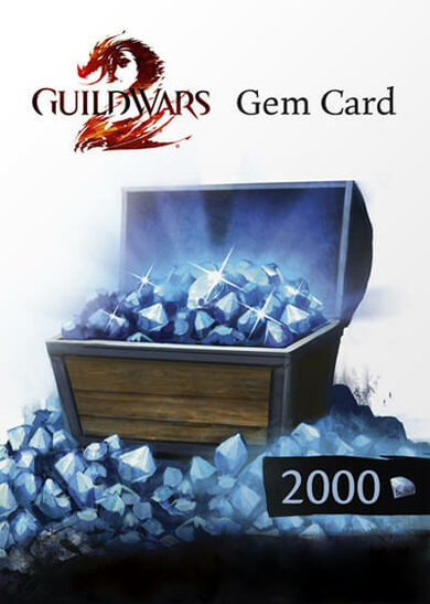 Guild Wars 2 2000 Gems Card Official website Key EUROPE