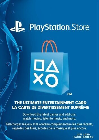 PlayStation Network Card 10 CAD PSN Key CANADA