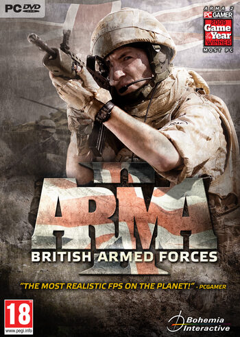 Arma 2: British Armed Forces (DLC) Steam Key GLOBAL