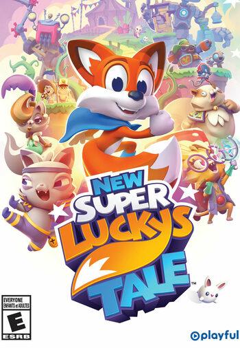 New Super Lucky's Tale  (Nintendo Switch) Nintendo Key EUROPE