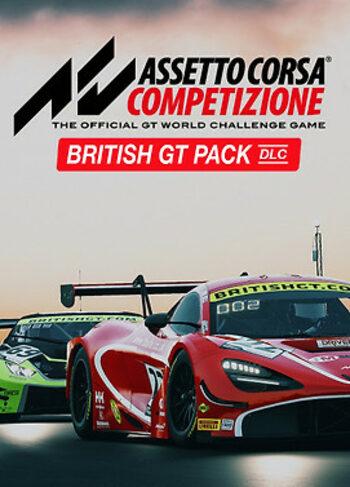 Assetto Corsa Competizione - British GT Pack (DLC) Steam Key GLOBAL