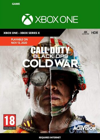 Call of Duty: Black Ops Cold War (Xbox One) Clave Xbox Live GLOBAL