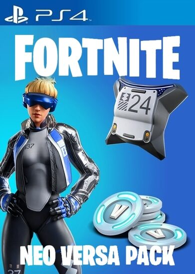 Fortnite: Neo Versa Bundle + 2000 V-Bucks PS4