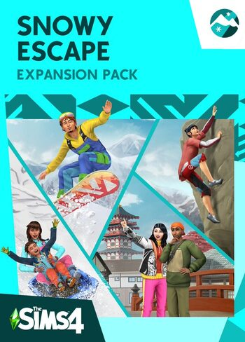 The Sims 4: Snowy Escape (DLC) Origin Key GLOBAL