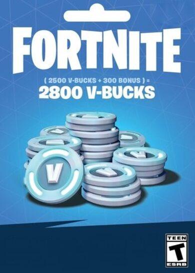 Fortnite - 2800 V-Bucks Gift Card Key UNITED KINGDOM