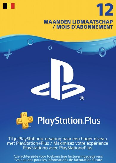 Playstation Plus Card 365 days (BE) PSN Key BELGIUM