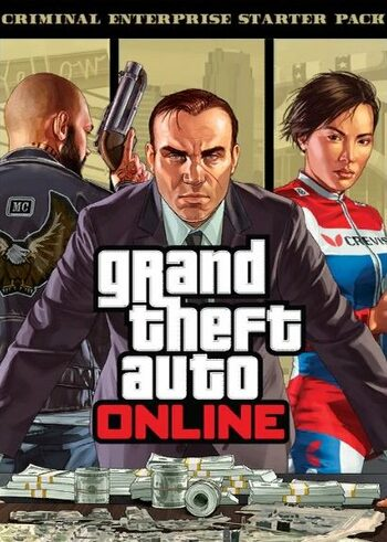 Grand Theft Auto V GTA: Criminal Enterprise Starter Pack (DLC) Rockstar Games Launcher Key GLOBAL