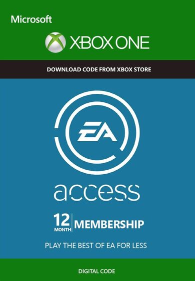 EA Acess Pass 12 Meses Xbox One Código Xbox GLOBAL