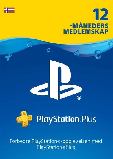 Playstation Plus Card 365 days (NO) PSN Key NORWAY
