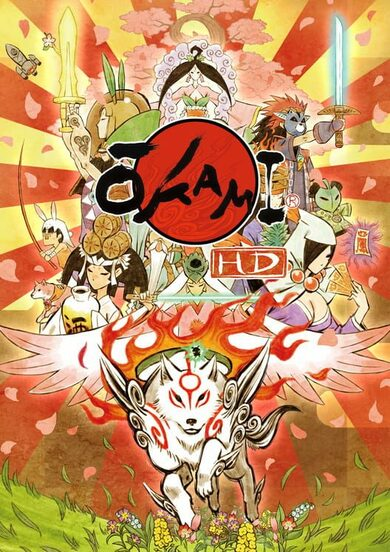 Okami HD Steam Key GLOBAL