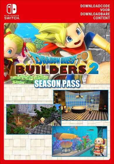 Dragon Quest Builders 2 Season Pass Nintendo Switch