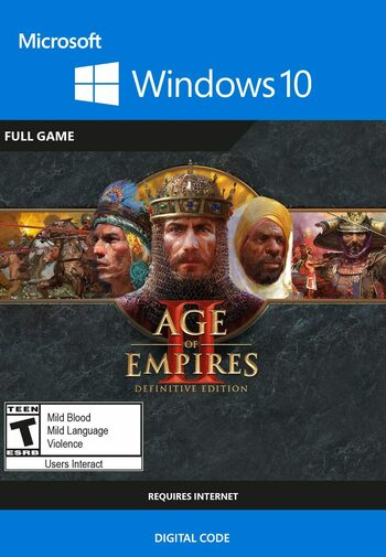 Age of Empires II : Définitive édition, clé Windows 10 Store GLOBAL
