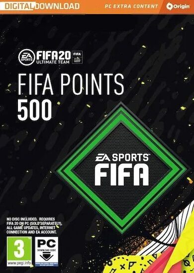 FIFA 20 - 500 FUT Points Origin Key GLOBAL