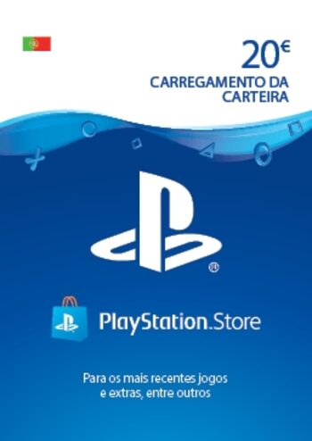 PlayStation Network Card 20 EUR (PT) PSN Key PORTUGAL