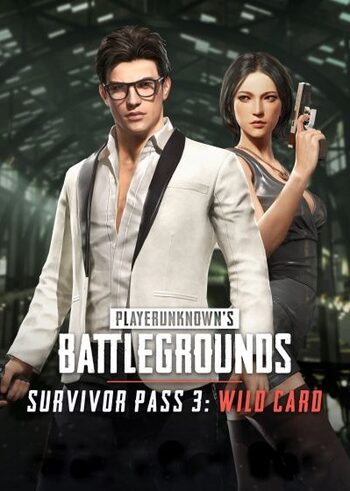 PUBG - Survivor Pass 3: Wild Card (DLC) Steam Key GLOBAL