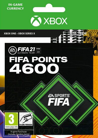 FIFA 21 - 4600 FUT Points (Xbox One) Xbox Live código Global
