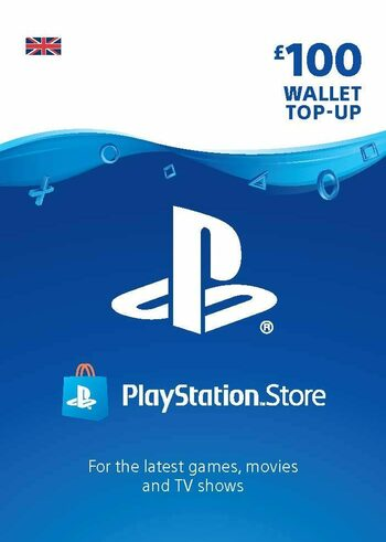 PlayStation Network Card 100 GBP (UK) PSN Key UNITED KINGDOM
