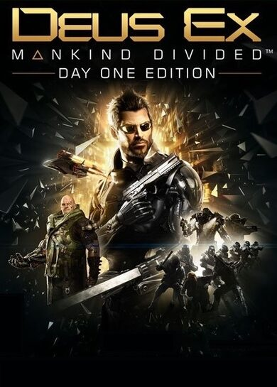 Deus Ex: Mankind Divided (Day One Edition) Steam Key EUROPE