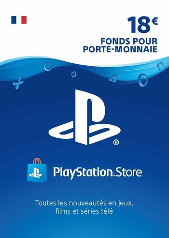 Carte PlayStation Network 18 EUR (FR) Carte PSN FRANCE
