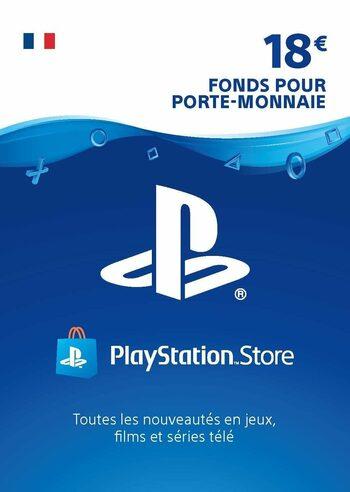 PlayStation Network Card 18 EUR (FR) PSN Key FRANCE