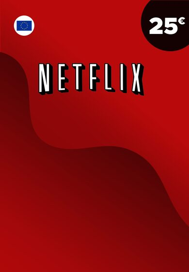 Netflix Gift Card 25 EUR Key EUROPE