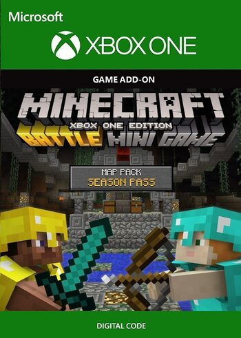 Minecraft: Battle Map Pack Season Pass (DLC) (Xbox One) Xbox One Key GLOBAL