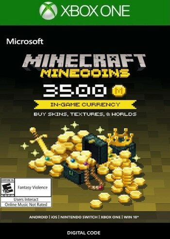 Minecraft: Minecoins Pack: 3500 Coins (Xbox One) Xbox Live Key UNITED STATES