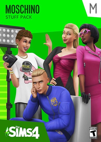 The Sims 4 - Moschino Stuff Pack(DLC) Origin Key GLOBAL