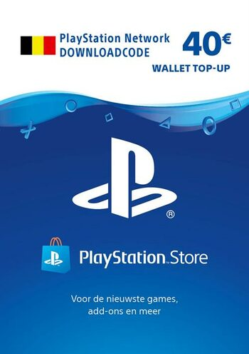 PlayStation Network Card 40 EUR (BE) PSN Key BELGIUM