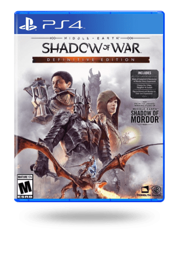 Middle Earth: Shadow Of War Definitive Edition PlayStation 4