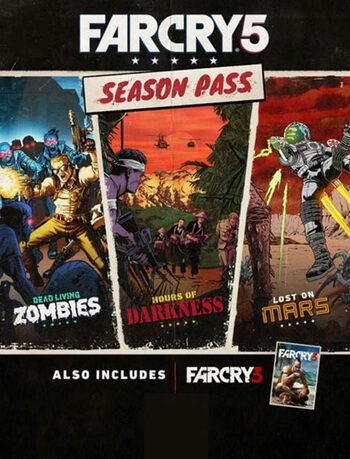Far Cry 5 - Season Pass (DLC) Uplay Key RUSSIA