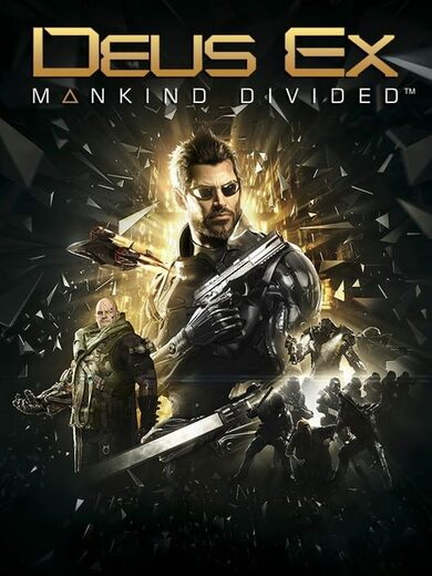 Deus Ex: Mankind Divided (Digital Deluxe Edition) Steam Key GLOBAL