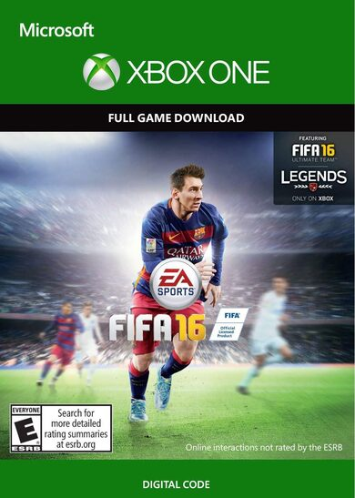 FIFA 16 (Xbox One) Xbox Live Key GLOBAL