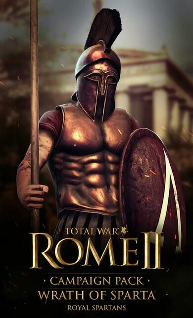 Total War: Rome II - Wrath of Sparta (DLC) Steam Key GLOBAL фото