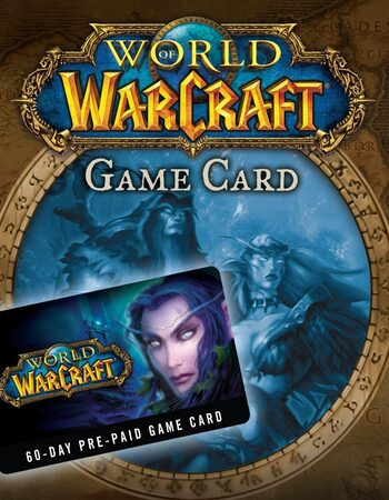 World of Warcraft 60-days (2x 30-days) time card Battle.net Key EUROPE
