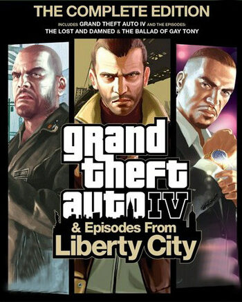 Grand Theft Auto IV: Complete Edition Rockstar Games Launcher Key GLOBAL