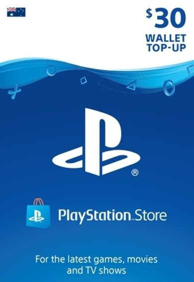 PlayStation Network Card 30 AUD (AU) PSN Key AUSTRALIA