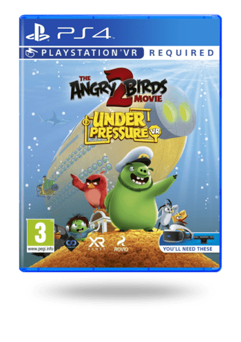 The Angry Birds Movie 2 VR: Under Pressure PlayStation 4
