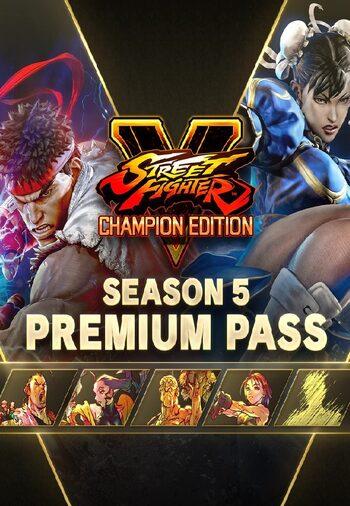 Street Fighter V - Season 5 Premium Pass (DLC) Steam Key GLOBAL