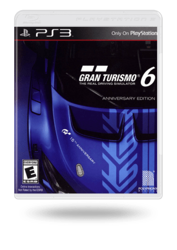 Gran Turismo 6 Anniversary Edition PlayStation 3