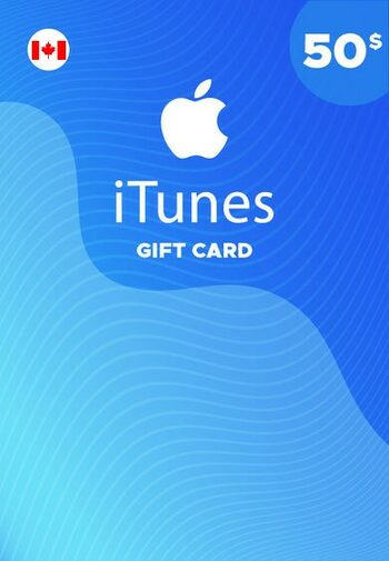 Apple iTunes Gift Card 50 CAD iTunes Key CANADA
