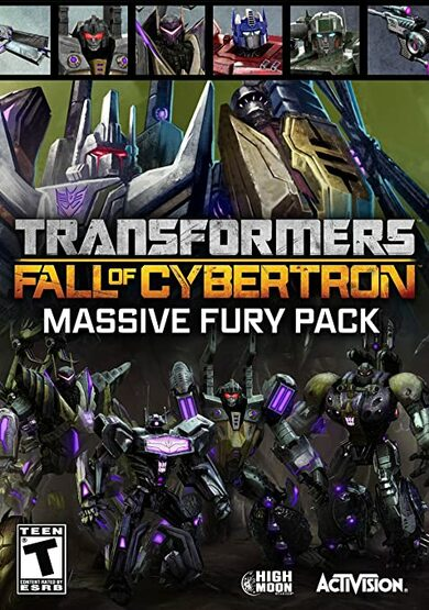 Buy Transformers: Fall of Cybertron Massive Fury Pack (DLC) key