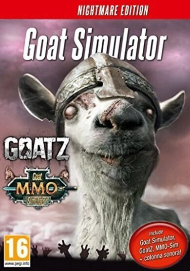 Goat Simulator - Nightmare Edition Steam Key GLOBAL