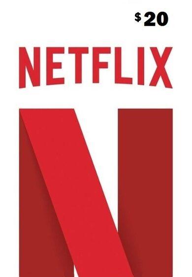 Netflix Gift Card 20 USD Key UNITED STATES
