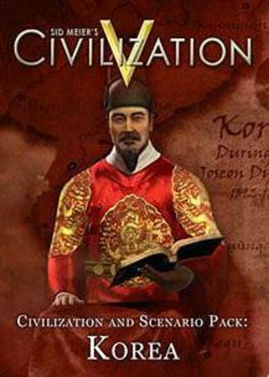 Sid Meier's Civilization V and Scenario Pack: Korea (DLC) Steam Key EUROPE
