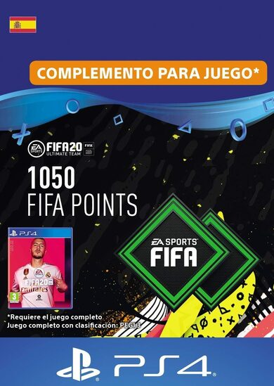 FIFA 20 - 1050 FUT Points (PS4) PSN Clave España