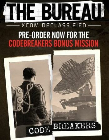The Bureau: XCOM Declassified - Codebreakers (DLC) Steam Key GLOBAL